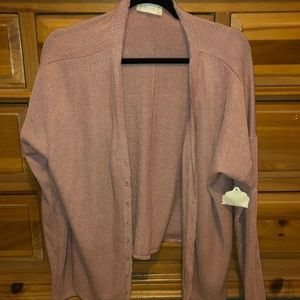 Altar'd state pink cardigan